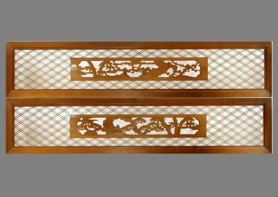 Carved Kumiko Ranma 566 A&B