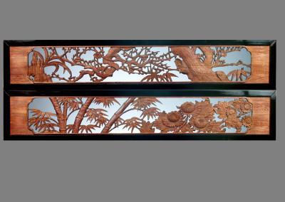 Carved Ranma 822 A&B