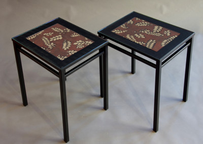 Katagami End Table Pair #1315 A&B