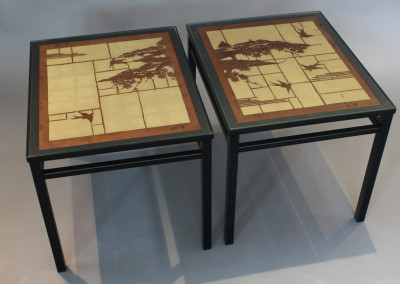 Katagami Pair Coffee Tables