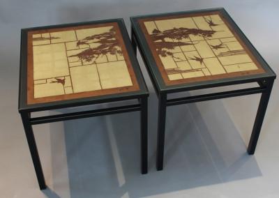 Katagami Pair Coffee Tables