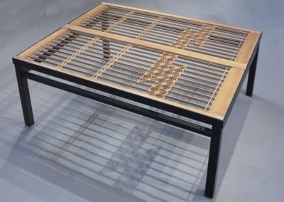 Kumiko Two Window Coffee Table