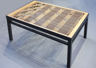 Kumiko Window Coffee Table