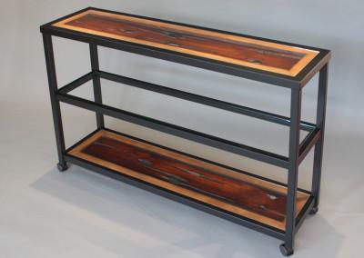 Rolling Three Shelf Ranma Table