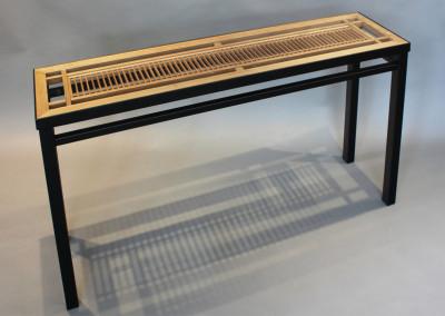 Small Kumiko Ranma Console Table