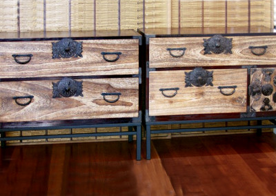Pair of Japanese Tansu