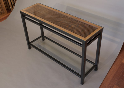 Tokyo Kimiko Console Table with Shelf