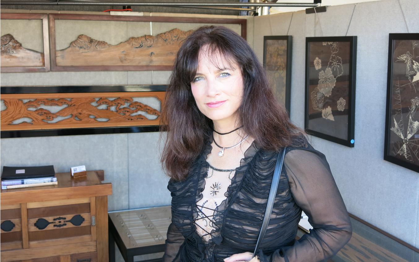 Rachel Meyer Sausalito Art Festival Booth
