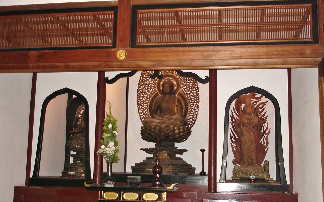 Temple Ranma in Japan