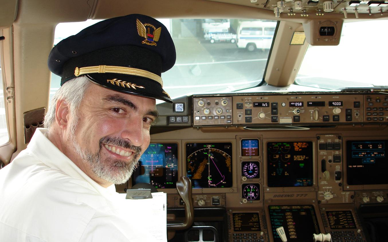 Vince Flies Jet