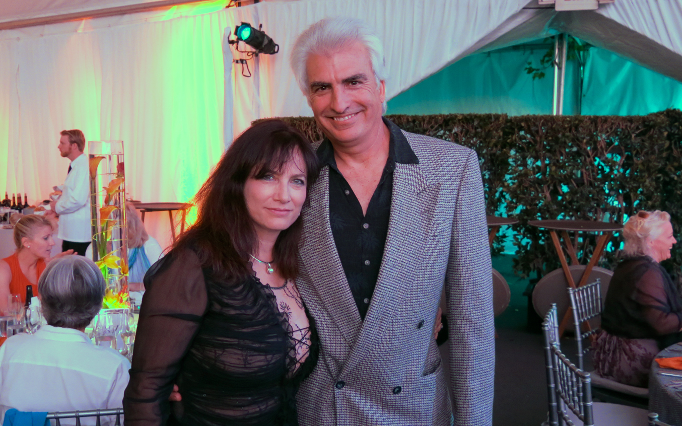 Vince Rachel Meyer Sausalito Art Festival Gala